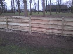 Drill fence